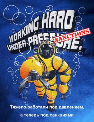 working hard under sanctions