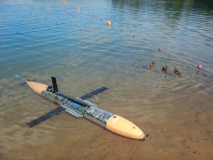 подводный глайдер для экологического мониторинга