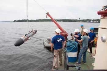 Глайдер, Океанос, испытания в Балтийском море