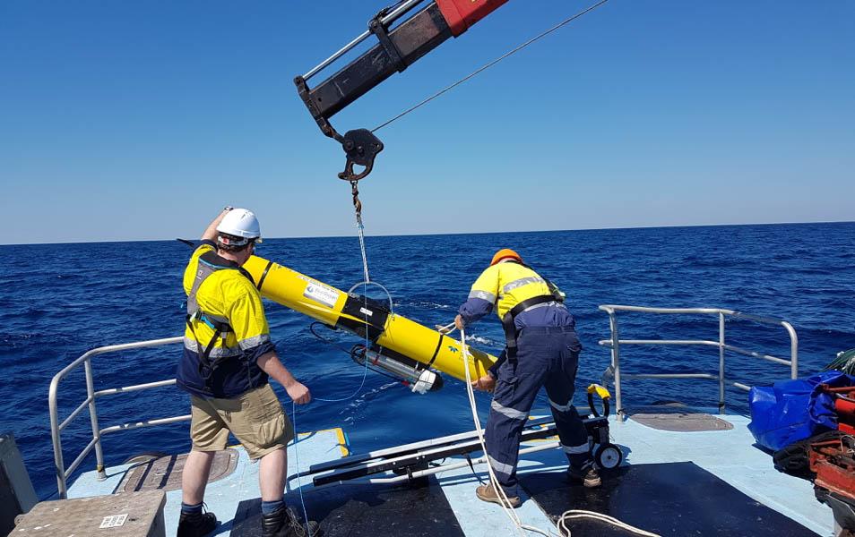 фото Blue Ocean Monitoring, подводный глайдер для геологоразведки