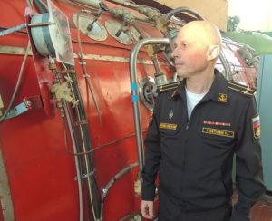 Ринат Гизатуллин, капитан 2 ранга, водолаз-глубоководник, пилот жестких скафандров