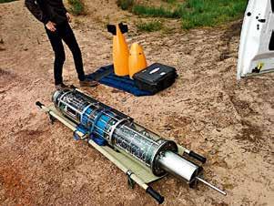 подготовка глайдера к испытаниям на открытой воде