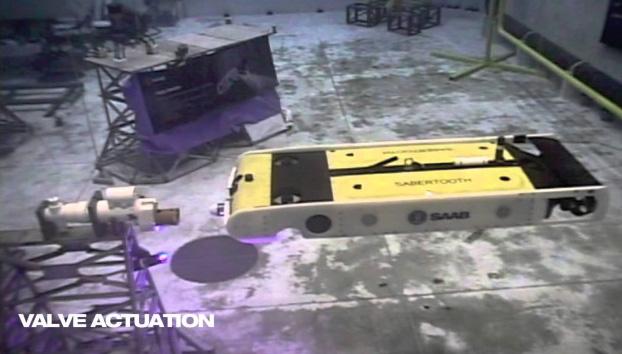 Аппарат Sabertooth в тестовом бассейне NASA