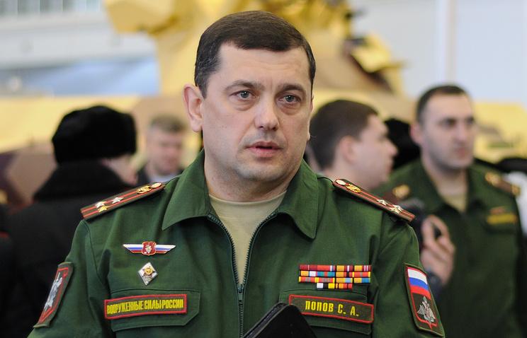 Сергей Попов, начальник ГНИИЦ РТ МО РФ