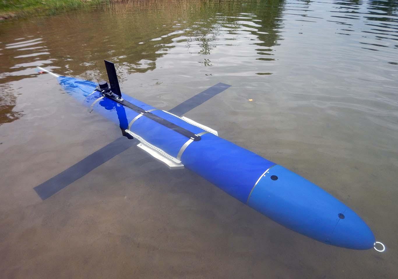 Подводный глайдер на испытаниях в Ленинградской области