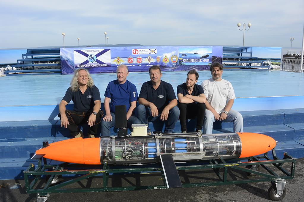 Океанос и ГМТУ ведут разработки подводной робототехники с 2012 года