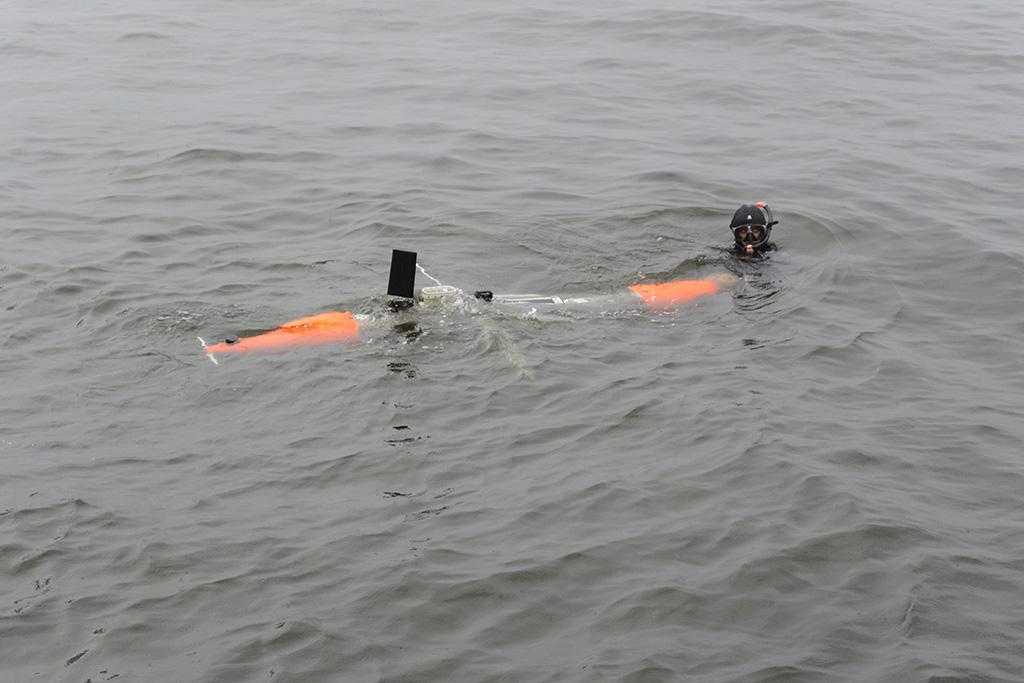 Испытания подводного глайдера СПбГМТУ и Океанос на открытой воде