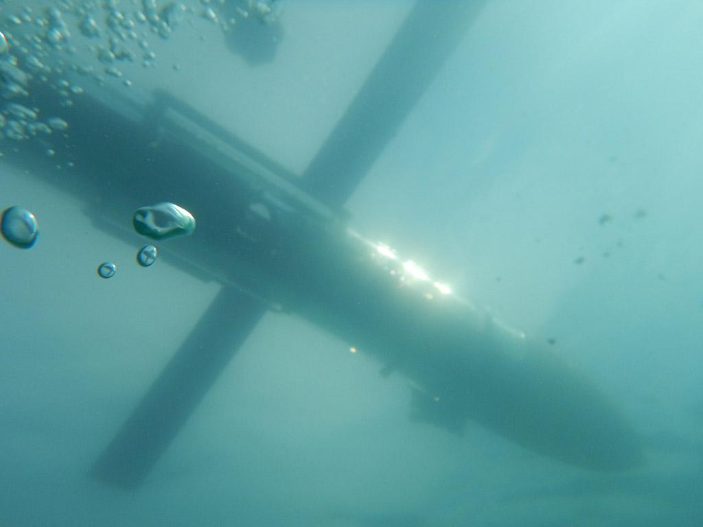 Подводный глайдер Океанос для поиска и обследования потенциально опасных объектов