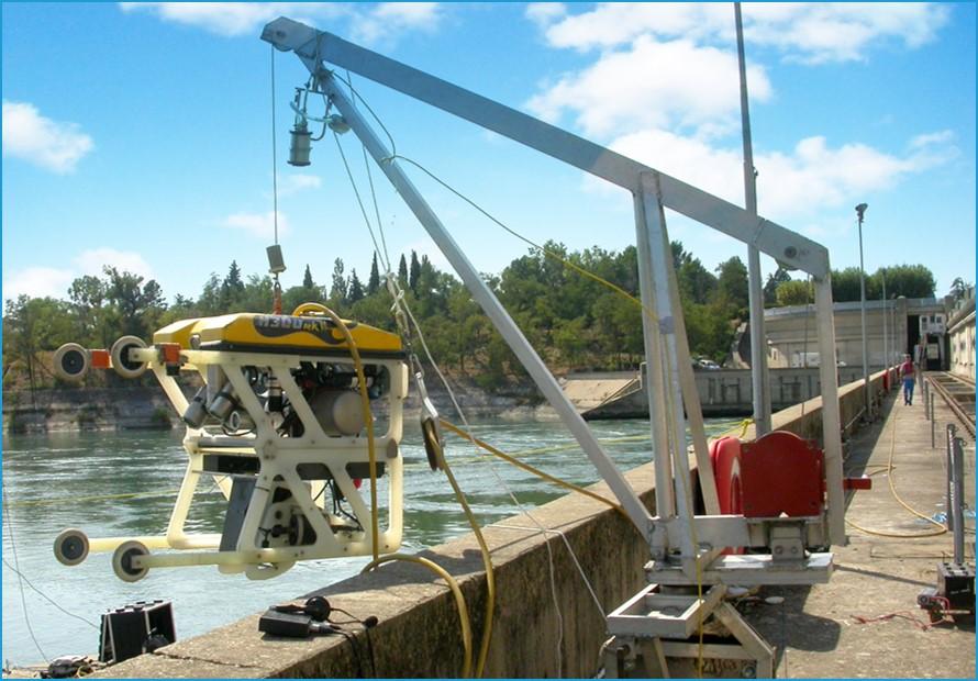 ТНПА H300 для обследования гидротехнических сооружений