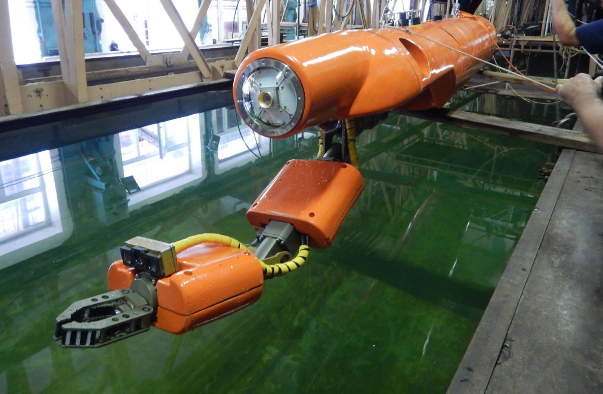 интервенционный автономный необитаемый подводный аппарат ЛИ АНПА