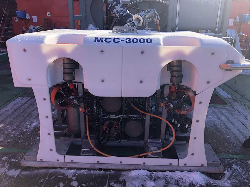 МаринГеоСервис провели демонстрацию ТНПА МСС-3000