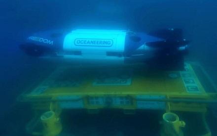 Гибридный необитаемый подводный аппарат Freedom компании Oceaneering