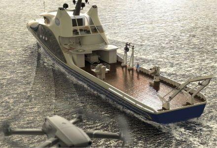 Китайское исследовательское судно Iship