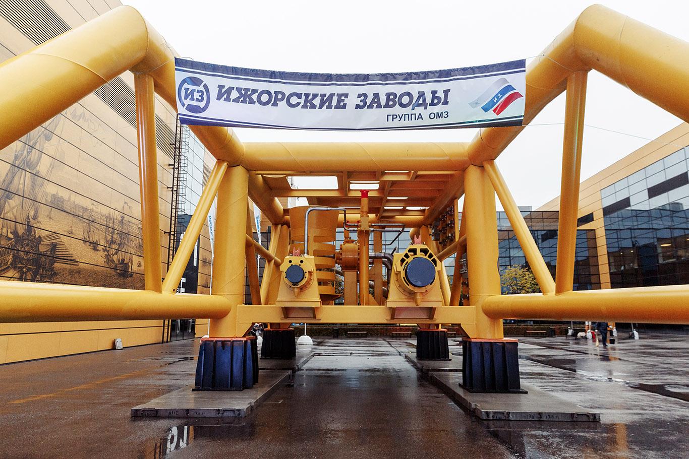 Подводный манифолд Ижорских заводов