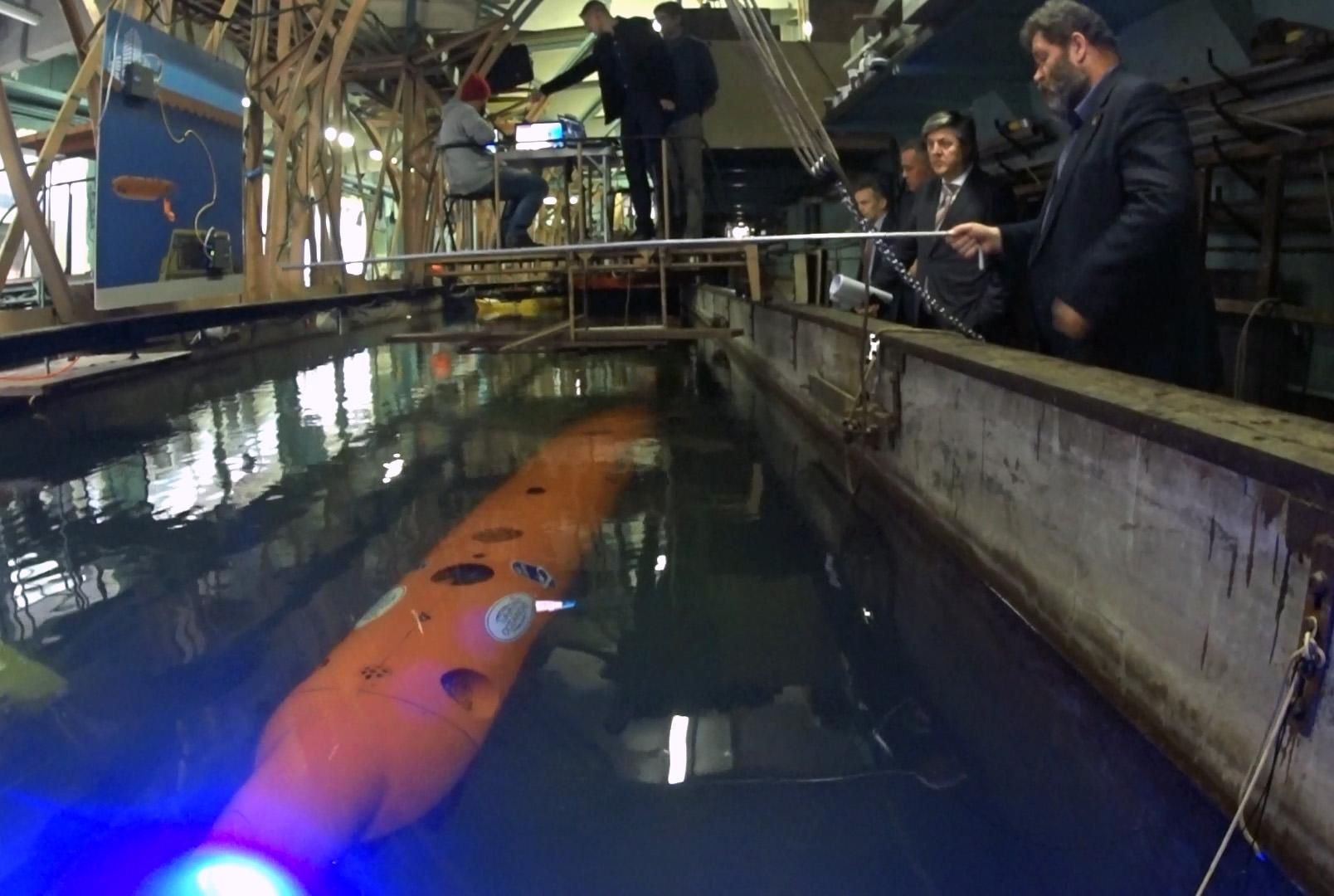 Океанос демонстрирует АНПА Олерскому В.А. в рамках заседания Маринет НТИ