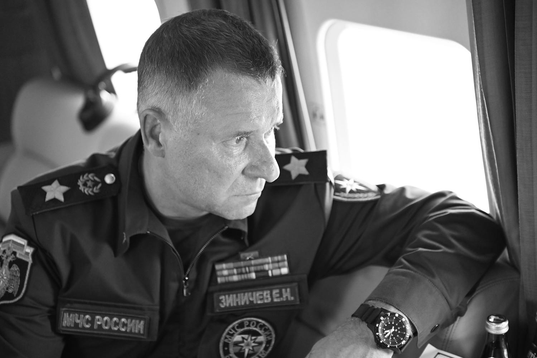 Трагически погиб глава МЧС России Евгений Зиничев